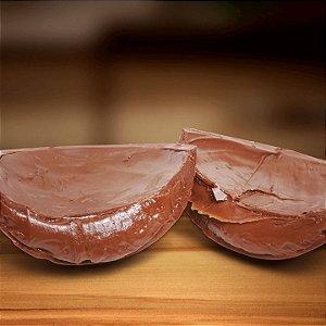 Ovos de Páscoa de Chocolate recheado com Brigadeiro