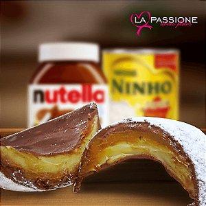 Ovos de Páscoa de Leite Ninho com Nutella