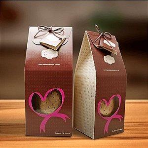 Ovo de Chocolate com recheio de Bem Casado