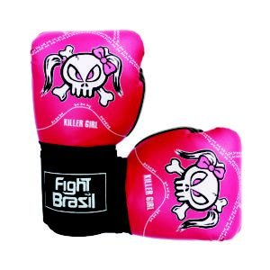 Luva de Muay Thai / Boxe Fight Brasil New Killer Girl