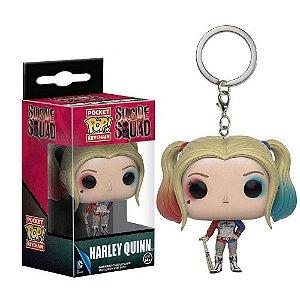 Chaveiro Pocket Pop DC Suicide Squad Harley Quinn