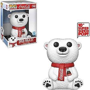 Funko Pop Coca Cola Polar Bear Urso Super Size Exclusivo Funkoshop #59