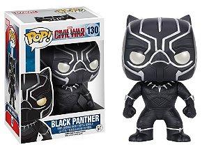Funko Pop Marvel Capitão América Guerra Civil - Pantera Negra