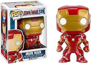 Funko Pop Marvel Capitão América Guerra Civil - Homem de Ferro