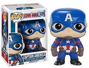 Funko Pop Marvel Capitão América Guerra Civil