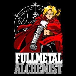 Camiseta Anime Fullmetal Alchemist Edward