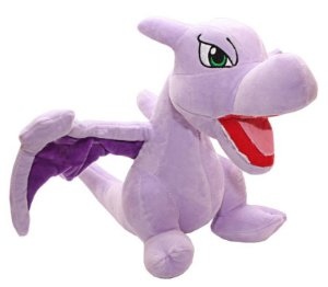 Pelúcia Pokémon Dragão Aerodactyl