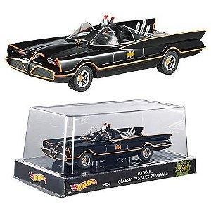 Batmóvel Batman 1966 TV Series Batmobile 1:24 Hot Wheels Heritage