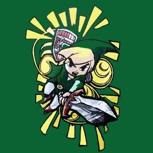 Camiseta Link - The Legend of Zelda