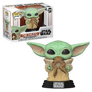 Funko Pop Star Wars Mandalorian Baby Yoda The Child With Frog #379