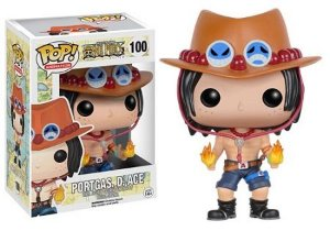Funko Pop One Piece Portgas D Ace #100