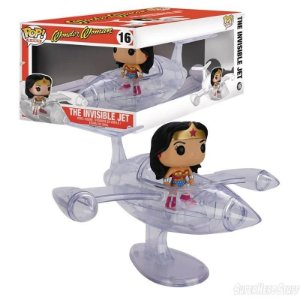 Funko Pop Rides Mulher Maravilha The Invisible Jet #16