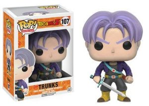 Funko Pop Anime Dragon Ball Z Trunks #107