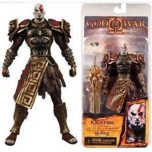 Action Figure God of War Kratos Ares Armor
