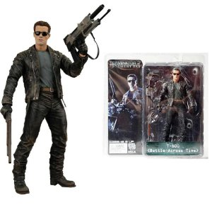 Action Figure Exterminador do Futuro Terminator 2 T800 Battle Across Time 18cm