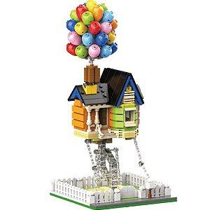 Casa Balão Balloon House 555 pcs Construção Bloco de Montar