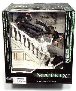 Matrix Reloaded Neo Chateau Fight Scene Figure Series 1