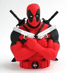 Cofre Deadpool Bust Bank Marvel