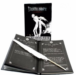 Caderno Death Note Regras em Japones