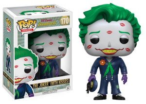 Funko Pop Dc Bombshell The Joker With Kisses Exclusivo #170