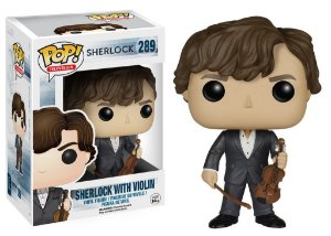 Funko Pop Sherlock With Violin #289