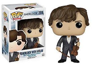 Funko Pop Sherlock With Violin #289