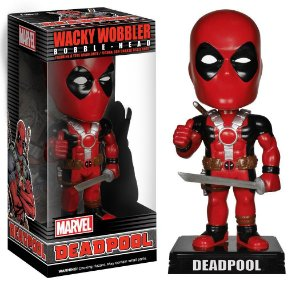Funko Wacky Wobbler Bobble Head Marvel Deadpool