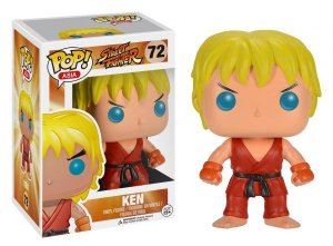 Funko Pop Street Fighter Ken #72