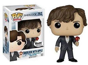 Funko Pop Sherlock With Apple Exclusivo BAM! #292