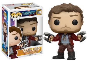 Funko Pop Marvel Guadiões da Galáxia Vol 2 Star Lord #198