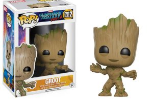 Funko Pop Marvel Guardiões da Galáxia Vol 2 Groot #202