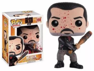 Funko Pop The Walking Dead Negan Bloody Exclusivo #390