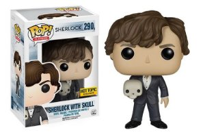 Funko Pop Sherlock With Skull Exclusivo #290