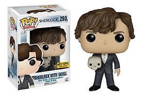 Funko Pop Sherlock With Skull Exclusivo #290
