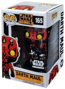 Funko Pop Star Wars Rebels Darth Maul Smuggler's Bounty Exclusivo #165