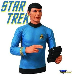 Cofre Star Trek Busto Spock - Diamond Toys