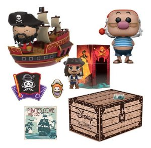 Funko Box Disney Treasures Pirate's Cove Smee