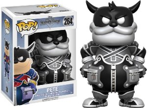Funko Pop Disney Kingdom Heart Pete Black e White Exclusivo #264