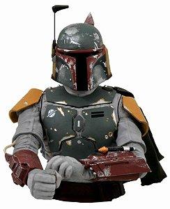 Cofre Star Wars Busto Boba Fett