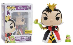 Funko Pop Disney Queen of Hearts Hot Topic #234