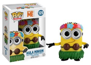 Funko Pop Despicable Me Meu Malvado Favorito Hula Minion #125