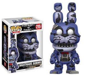 Funko Pop Five Nightmare At Freddys FNAF Nightmare Bonnie #215