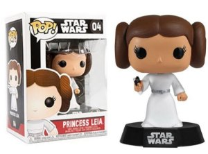 Funko Pop Star Wars Princesa Leia #04