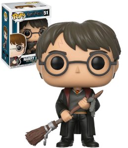 Funko Pop Harry Potter With Firebolt Exclusivo #51