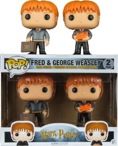 Funko Pop Harry Potter Fred e George Weasley Pack