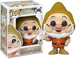 Funko Pop Disney Branca De Neve Anão Mestre Doc #346
