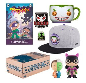 Funko Box DC Legion of Collectors Villains