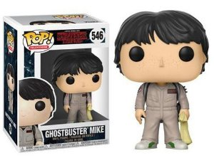 Funko Pop Stranger Things Ghostbuster Mike #546