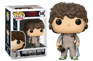 Funko Pop Stranger Things Ghostbuster Dustin #549