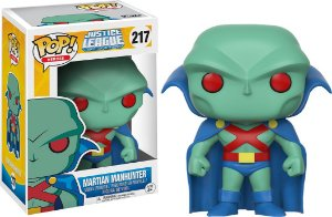 Funko Pop DC Liga da Justiça Martian Manhunter Exclusivo #217